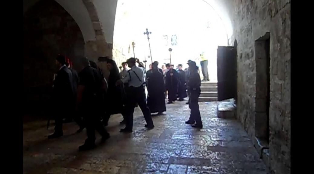 סגר על הר ציון – אין כניסה ליהודים