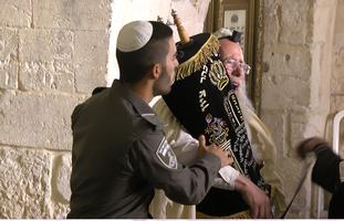 פינוי יהודים מקבר דוד